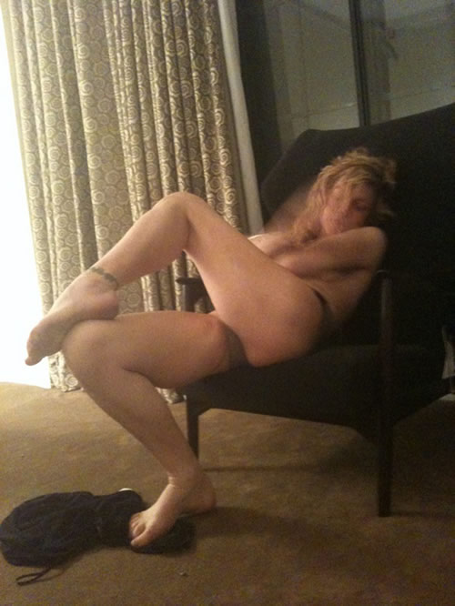 Courtney Love desnuda
