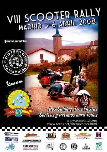 Rally scooter madrid
