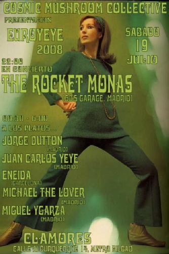 The Rocket Monas en la presentación del Euroyeye 2008