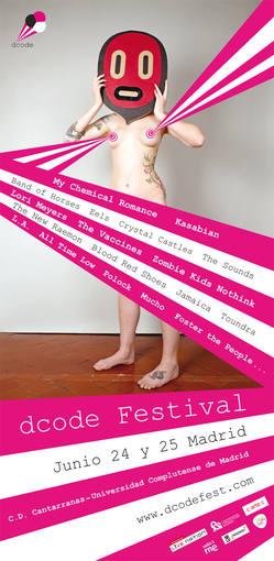 Cartel del Dcode, el festival de Madrid