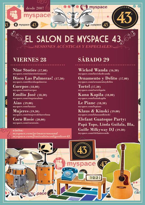 Salón Myspace del Primavera Sound: Coco Rosie, Tortel, Ornamento y Delito, Klaus & Kinski y Guateque Elefant Party