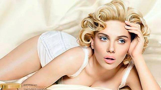 Scarlett Johansson coquetea con ser Courtney Love en la biografía de Cobain