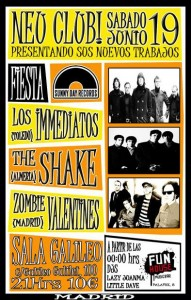 Fiesta Sunny Day Records en Neu! Club