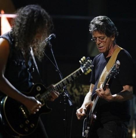 ¡Lou Reed y Metallica graban un disco juntos!