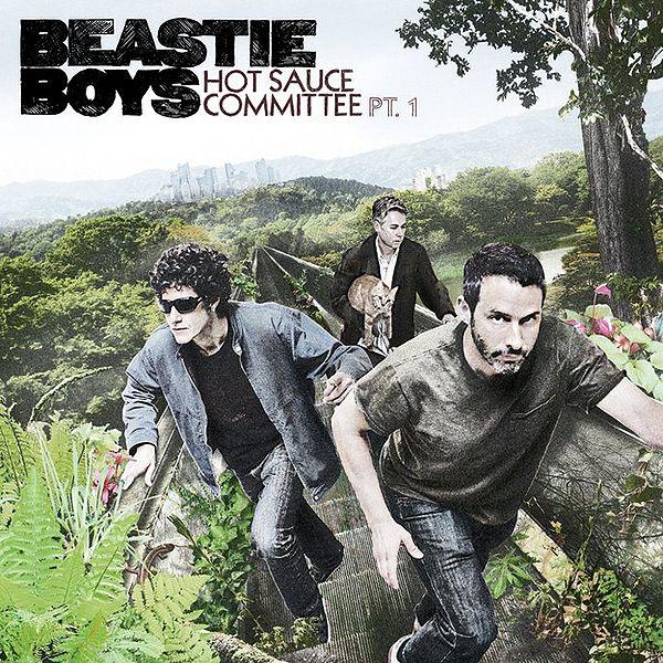 Beastie Boys, retocando Hot Sauce Committee Pt. 1 para publicarlo en septiembre