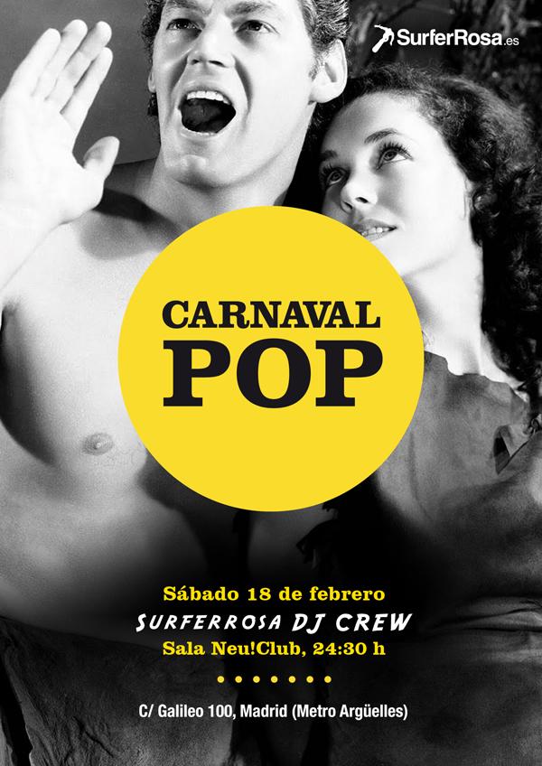 7 Carnaval POP: sábado 18 de febrero en el Neu! Club