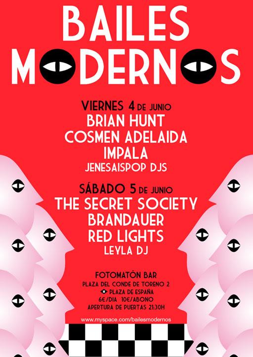 Festival Bailes Modernos: The Secret Society, Brian Hunt y Cosmen Adelaida en el Fotomatón