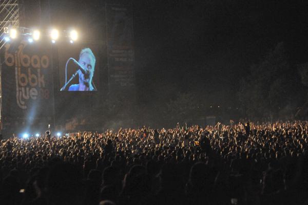 Viernes de Bilbao BBK Live: El concierto de Police con más teloneros de la historia