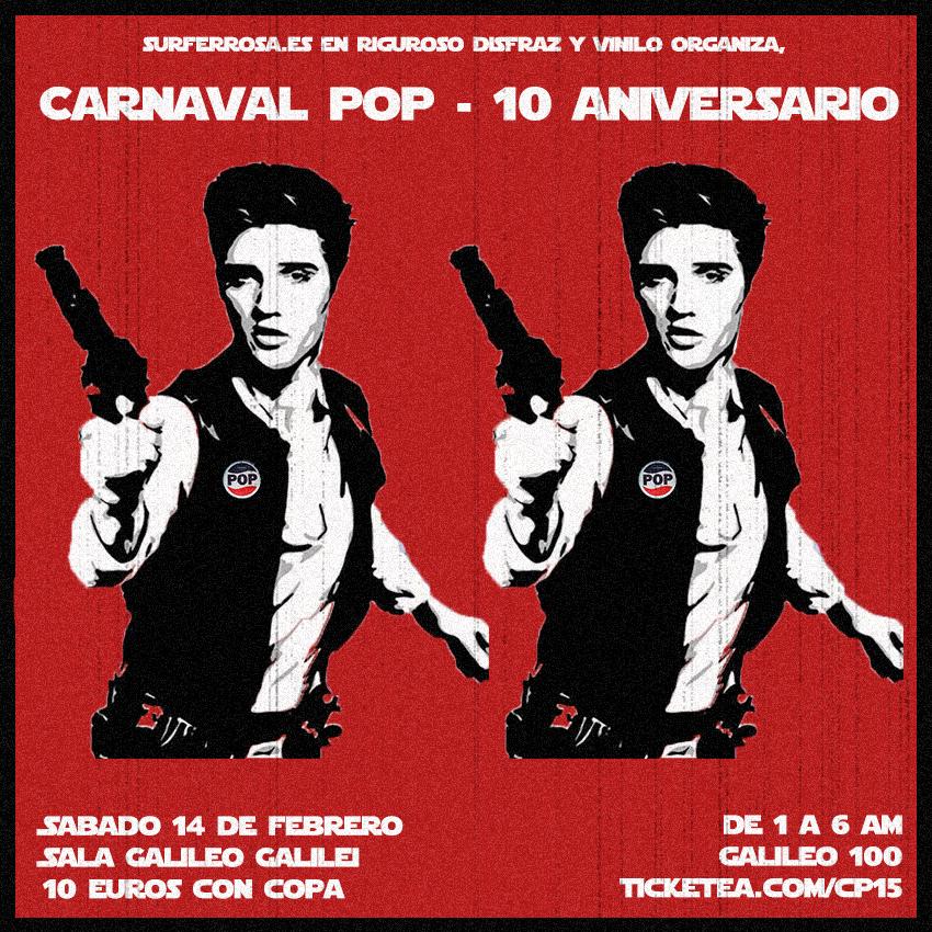 Carnaval POP, Décimo Aniversario