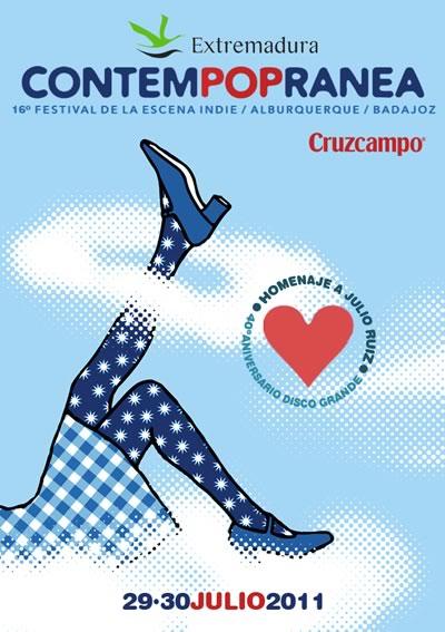 El Contempopránea 2011 se queda en Alburquerque y busca un cartel diferente
