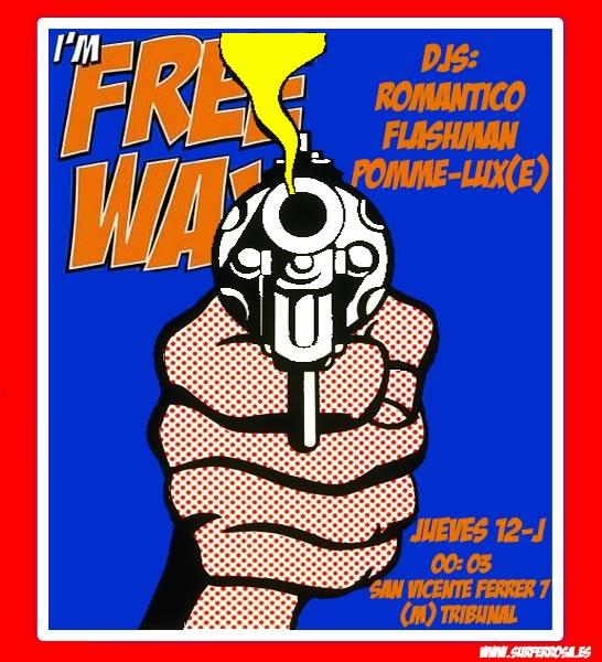 Jueves 12, Freeway, Malasaña: Surfer-Rosa DJS (Romántico + Flashman) & PoMMe-Lux(e)