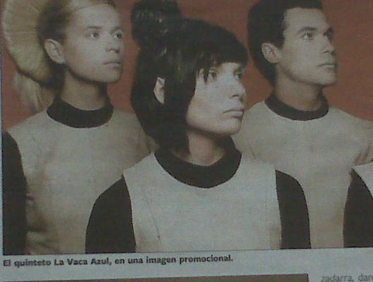 ¿El quinteto La Vaca Azul?