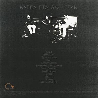 Kokoshca publican su directo para Kafea eta galletak