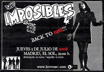 Los Imposibles, back to 1988