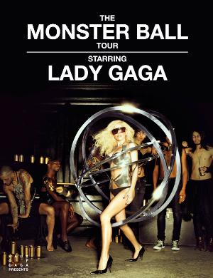 Lady Gaga en concierto en Barcelona (Cataluña, España) el 7 de diciembre de 2010