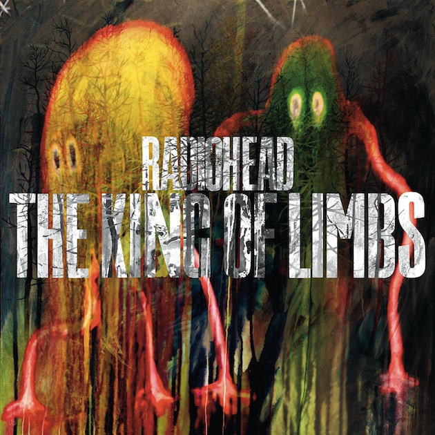 Las letras de The King of Limbs de Radiohead