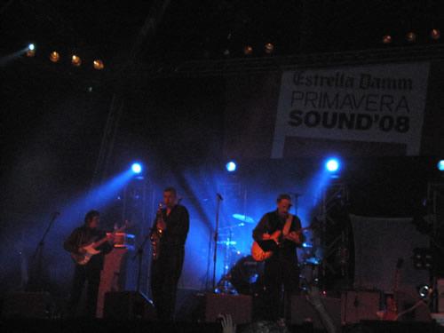 Crónica especial del concierto de The Sonics en el Primavera Sound 2008