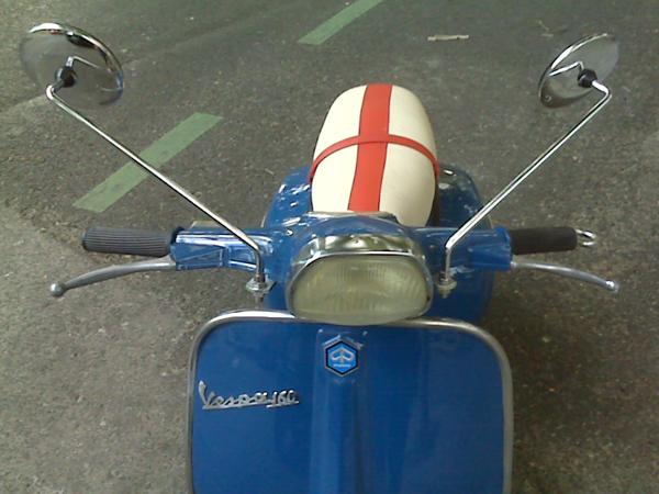 Mi Vespa 160 de 1969, por fin 2.0