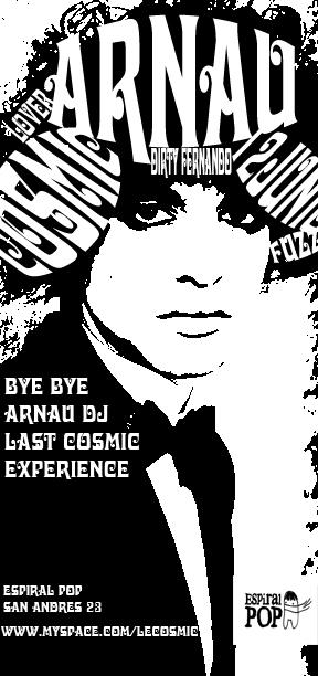 Arnau en Cosmic Club