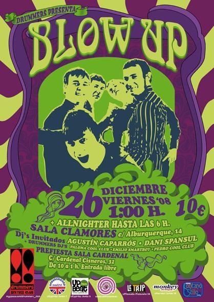 Blow Up en Drummers Club