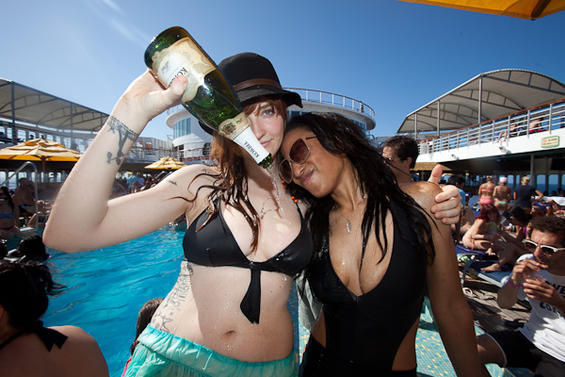 Festival Bruise Cruise, tres días de crucero con Vivian Girls, Black Lips…  a tope