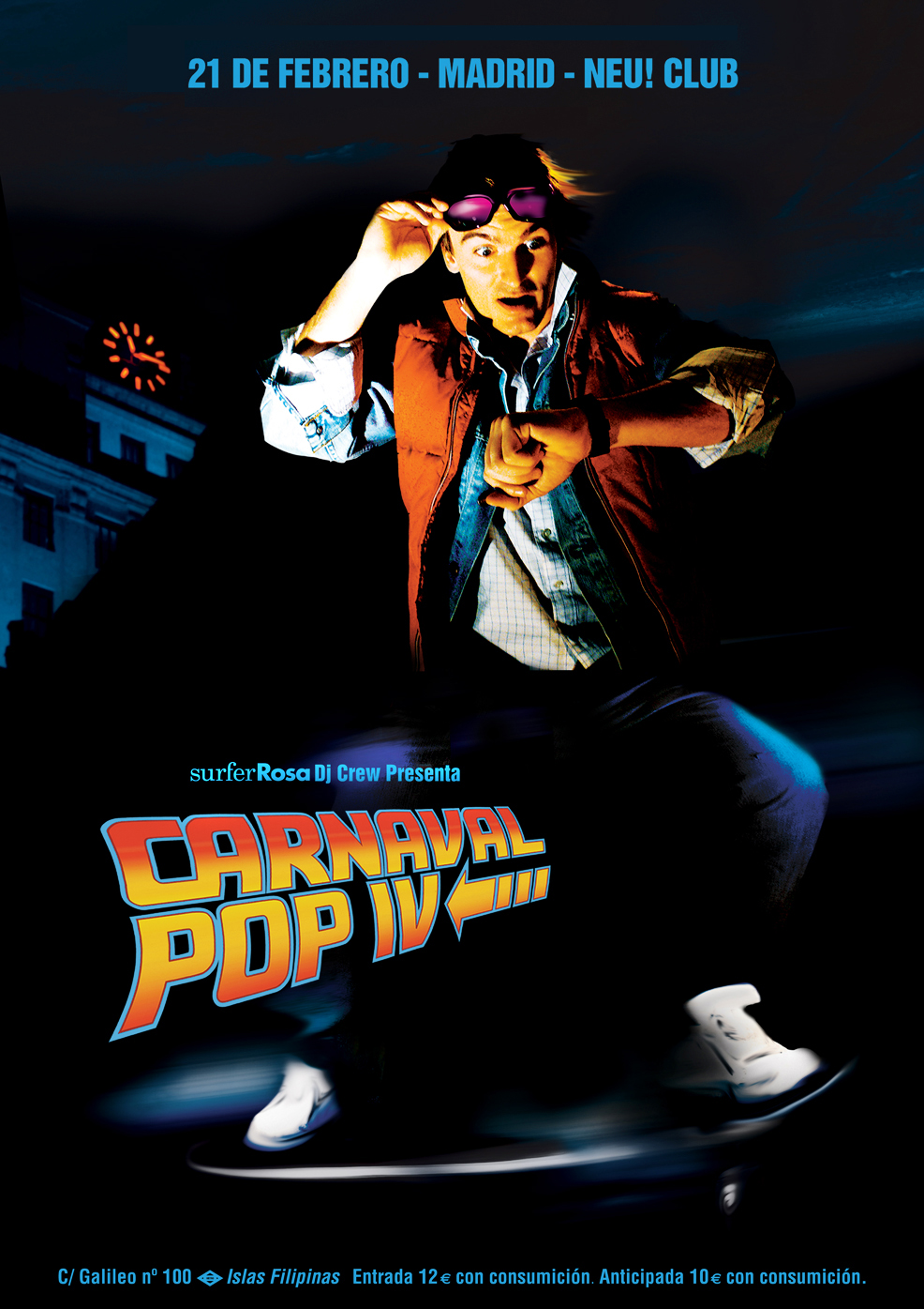 IV Carnaval Pop en el Neu! Club