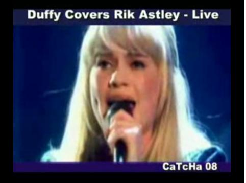 Rick Astley en los Premios MTV 2008: Duffy totalmente a favor