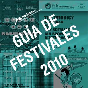 Guía de festivales 2010