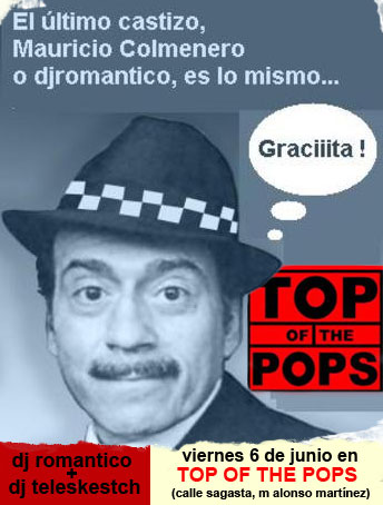 Dj Romántico en el Top of the Pops