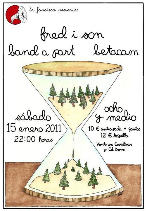 Fred i Son, Band a part, Betacam, Los Claveles y Sacramento: fin de semana de conciertos en madrid