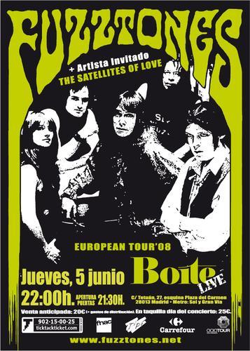 Hi-Risers y Fuzztones este jueves 5 junio en Madrid!!
