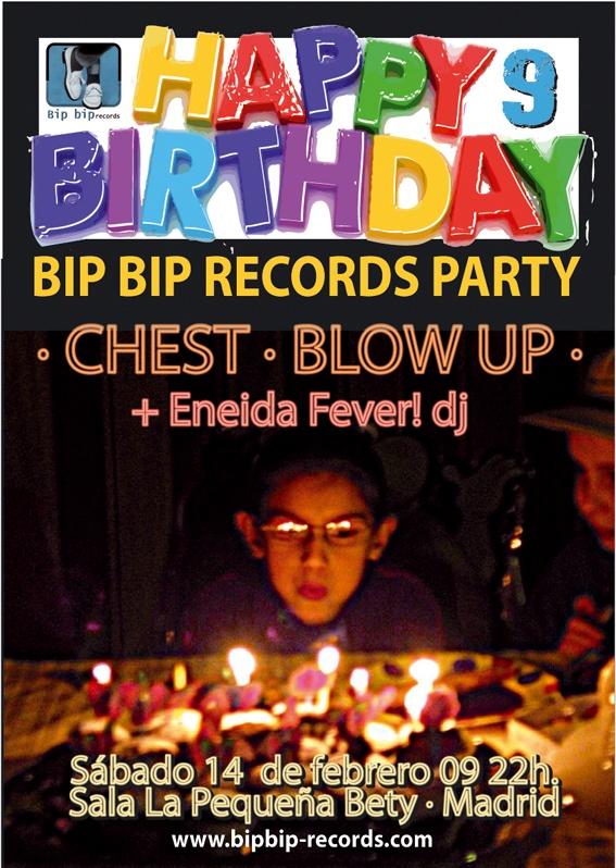 9º Aniversario de Bip Bip Records