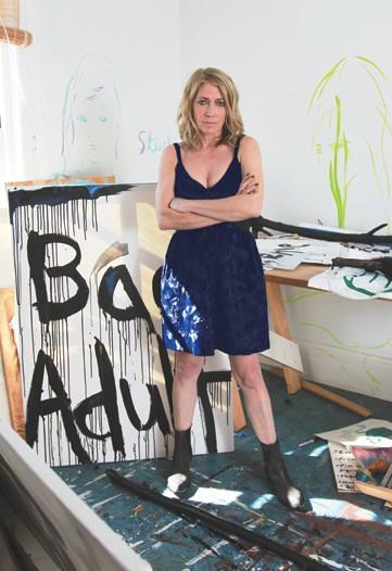 En la casa de una pintora: Kim Gordon