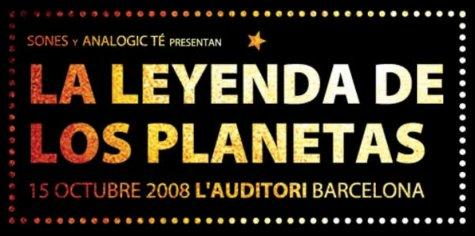 La Leyenda de los Planetas, concierto de homenaje