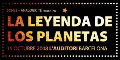 La Leyenda de los Planetas, concierto de homenaje