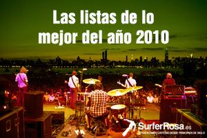 Especial listas de los mejores discos y canciones del año 2010