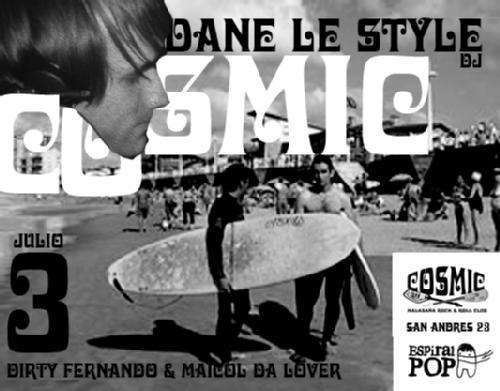 Dane Le Style en Cosmic Club