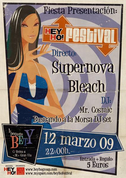 Fiesta Presentación del Hey Ho! Festival