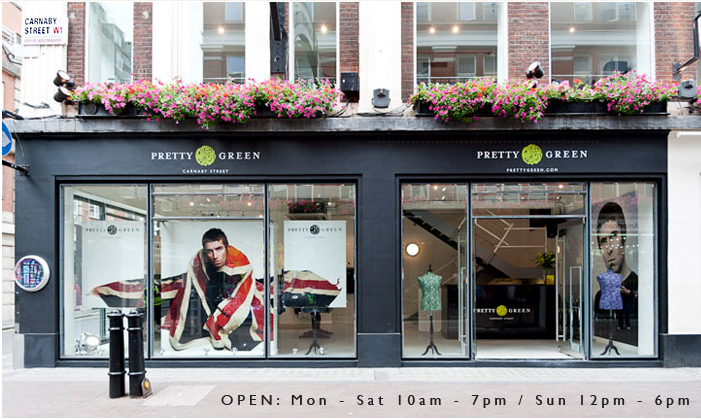 Pretty Green, la marca de ropa de Liam Gallagher abre tienda en Londres