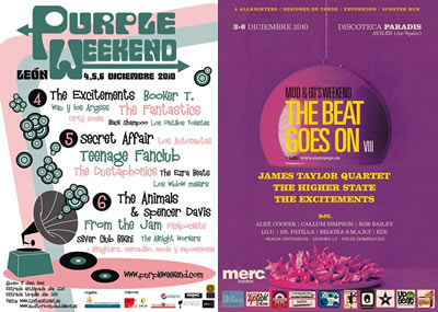 Cuenta atrás para el Purple Weekend y el Beat Goes On