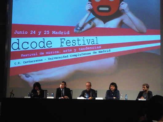 Presentación del Dcode Festival de Madrid