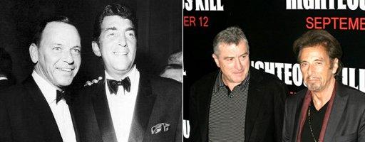 Martin Scorsese planea una biografía de Frank Sinatra con Al Pacino como protagonista y Robert De Niro como Dean Martin