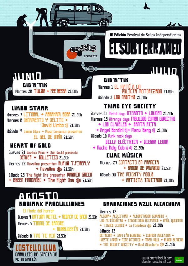 El Subterráneo, el festival de sellos independientes