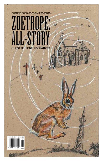 PJ Harvey diseña la edición 2010 de Zoetrope All-Story, la revista literaria de Francis Ford Coppola