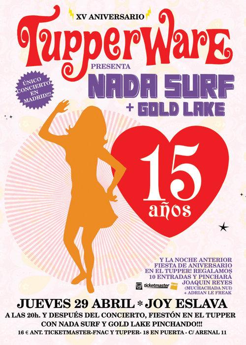 15 aniversario del Tupperware
