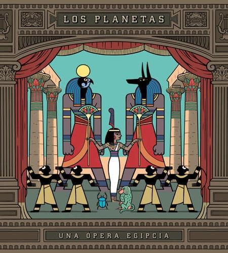 Una Ópera Egipcia de Los Planetas, número 2 en ventas con menos de 4.000 copias