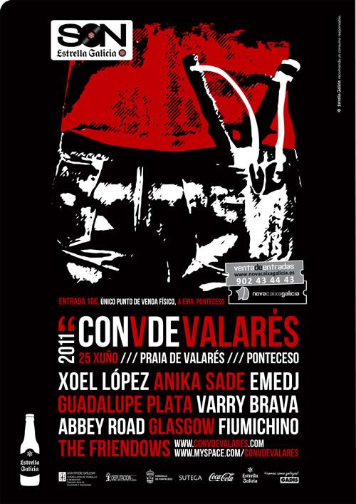 Sorteamos entradas para el Festival V de Valars con Xoel López, Guadalupe Plata o Eme Dj