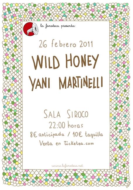 Sábado 26, ZA! en el Neu! Club y Wild Honey en Siroco por @lafonoteca