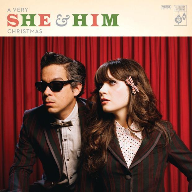 """""""Qué fea"""" Zooey Deschanel en la portada del disco navideño de She & Him"""